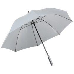 Umbrela de golf 120 cm, cu invelis reflectorizant, argintiu, Everestus, UG17RE, metal, fibra de sticla, poliester