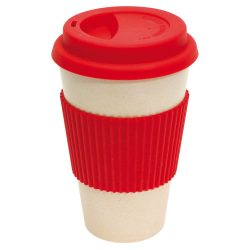Eco cup Cana de calatorie pentru cafea, rosu