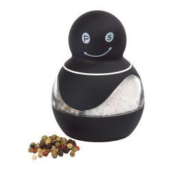 Rasnita sare si piper, negru, Everestus, SP04IN, plastic, ceramica, saculet inclus