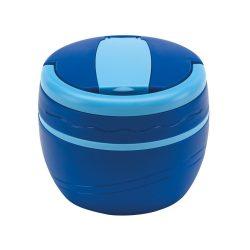 Caserola termica, Everestus, CAE05, plastic, albastru, saculet sport inclus