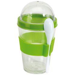 Cutie cereale, Everestus, CAE28, plastic, silicon, verde, saculet sport inclus