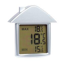 Comfort Termometru cu display, argintiu