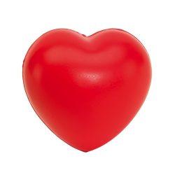 Jucarie antistres Inima, Everestus, ASJ034, poliuretan, rosu