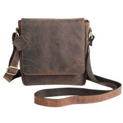 Geanta maro, Everestus, GU09WS, piele, saculet de calatorie si eticheta bagaj incluse
