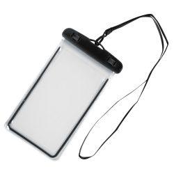 Husa de telefon DIVER, splash-proof, plastic, pvc, phthalate free, negru, transparent