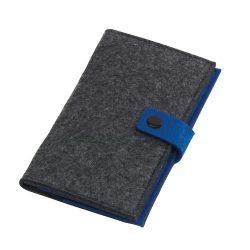 Edition Suport pentru carti de vizita, albastru si gri