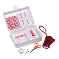 Trusa de prim ajutor, plastic, Everestus, TSPA12, alb, saculet de calatorie inclus