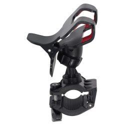 Suport smartphone pentru bicicleta, Everestus, DH01, plastic, negru, saculet de calatorie inclus