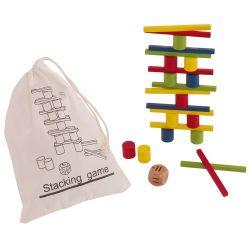 Stacking Joc puzzle, multicolor