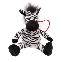 Lorenzo Zebra de plus, negru si alb