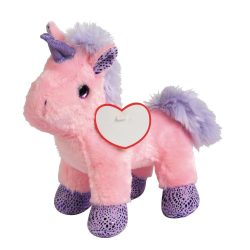 Lilly Unicorn din plus, roz