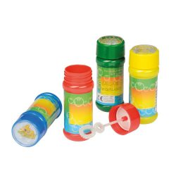 Air Bubble Set baloane din sapun, albastru, verde, rosu si galben