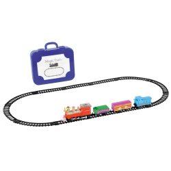 Locomotiva electrica, Everestus, 20FEB0118, Plastic, Albastru