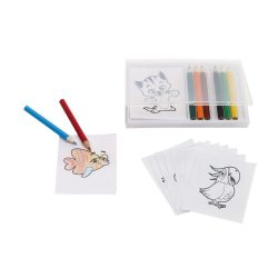 Crazy Animals Set de colorat, multicolor