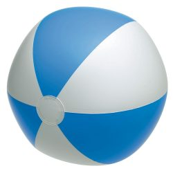 Minge de plaja gonflabila, Everestus, EGB004, pvc, albastru, alb