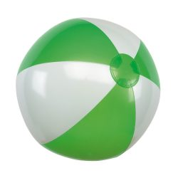 Minge de plaja gonflabila, Everestus, EGB007, pvc, verde, alb
