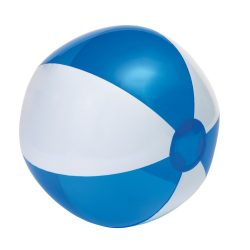 Minge de plaja gonflabila, transparenta, Everestus, EGB072, pvc, transparent, albastru, alb