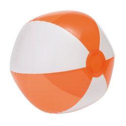 Minge de plaja gonflabila, transparenta, Everestus, EGB075, pvc, alb, transparent, portocaliu