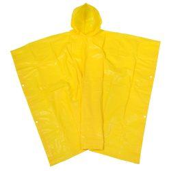 Pelerina de ploaie cu gluga, marime universala, Everestus, 20IAN1210, Galben, Plastic