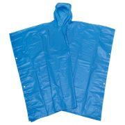 Poncho ploaie NEVER WET, plastic, albastru