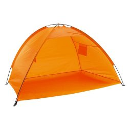 Umbrar tip cort pentru plaja, portocaliu, Everestus, CO02CD, poliester, fibra de sticla
