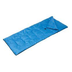 Sac de dormit 190x75 cm, cu geanta pentru transport, albastru deschis, Everestus, SD01BE, poliester 100%