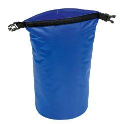 Geanta de plaja din material impermeabil, Everestus, EGP0611, poliester, plastic, polipropilena, albastru, saculet inclus