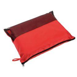 Patura picnic 100x115 cm, cu gentuta, Everestus, 20FEB0153, Poliester, Rosu