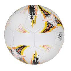Minge de fotbal cu 32 segmente, marime 5, Everestus, KAD02, pvc, alb, negru, desfacator de sticle inclus