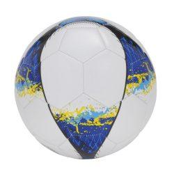 Minge de fotbal, marime 5, 32 segmente, alb, Everestus, MF06PP, pvc, desfacator de sticle inclus