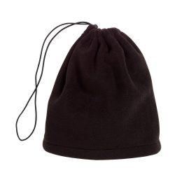 Fular caciula fleece VARIOUS, negru