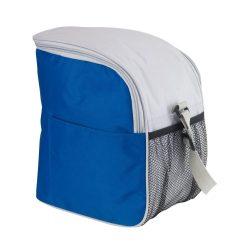 Geanta frigorifica cu banda ajustabila pentru umar, Everestus, GL01GTI, poliester 420D, albastru inchis, pastila racire inclusa