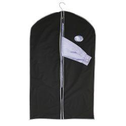 Husa pentru imbracaminte,  Everestus, CN01, peva, negru, saculet de calatorie si eticheta bagaj incluse