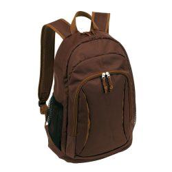 Rucsac maro, Everestus, RU09AA, poliester 600D, saculet de calatorie si eticheta bagaj incluse