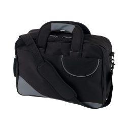 Geanta reporter, gri, Everestus, GD09MI, poliester 600D, saculet de calatorie si eticheta bagaj incluse