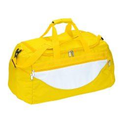 Geanta sport CHAMP, galben alb