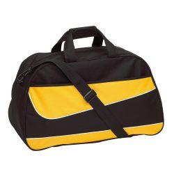 Geanta sport PEP, negru galben