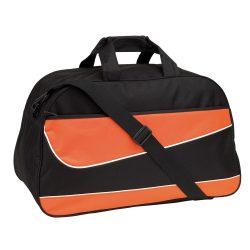 Geanta sport PEP, negru portocaliu