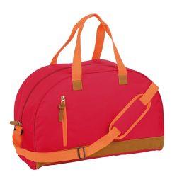 Geanta sport, rosu, Everestus, GS17FN, poliester 600D, saculet de calatorie si eticheta bagaj incluse