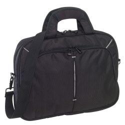 Geanta laptop cu bretea de umar ajustabila, negru, Everestus, GP02SY, poliester 1680D