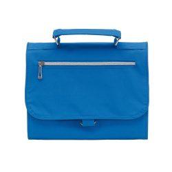 Geanta cosmetice pentru voiaj, Everestus, SR01, poliester 300D, albastru, saculet de calatorie inclus