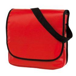 Geanta de umar cu bareta ajustabila, Everestus, CR04, clorofibra, rosu, saculet de calatorie si eticheta bagaj incluse