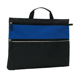 Geanta de documente FILE, negru albastru