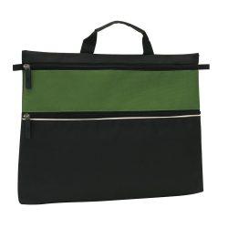 Geanta de documente FILE, negru verde