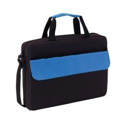 Geanta de documente BRISTOL, negru albastru