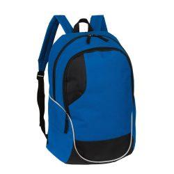 Rucsac sport casual cu bretele captusite, 46x34x19 cm, Everestus, 20SEP1119, Poliester, Albastru, Negru