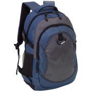 Rucsac albastru, gri, Everestus, RU18HS, poliester 1680D
