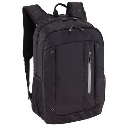 Rucsac negru, gri, Everestus, RU41TN, poliester, saculet de calatorie si eticheta bagaj incluse
