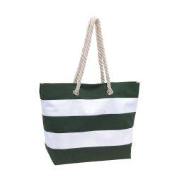 Geanta de plaja SYLT, verde alb