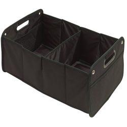Cutie tip bagaj, pliabila, pentru masina, negru, Everestus, AC01CT, poliester 600D, saculet de calatorie inclus